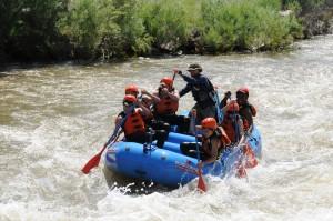 Rafting the Arkansas