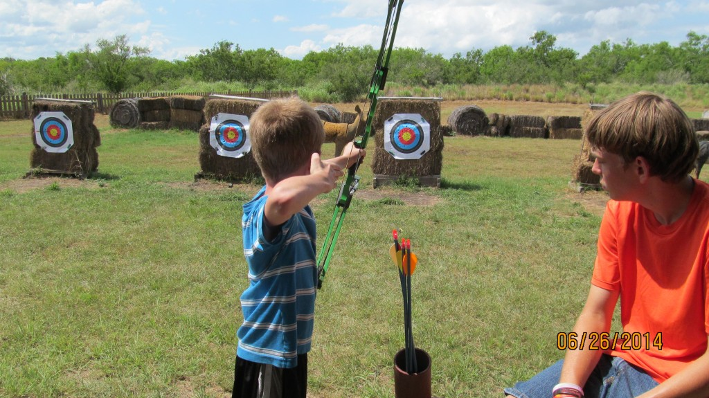 Archery at Camp K