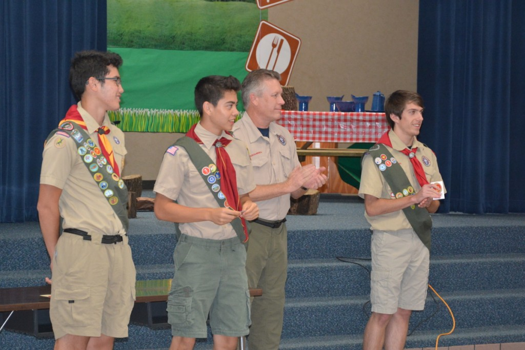 Our new Life Scouts!