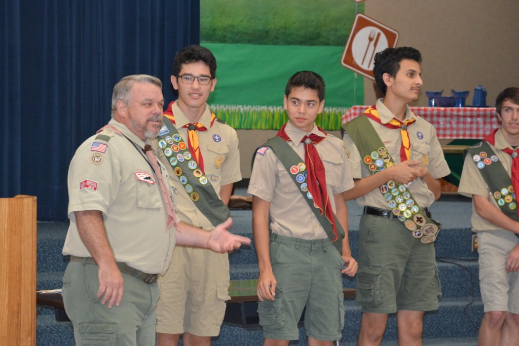 Scoutmaster Charlie