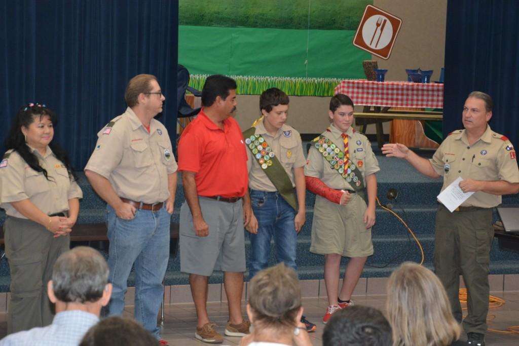 Spanish Peaks adult & scout leaders